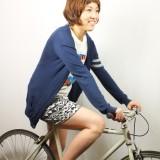 フロント自転車7